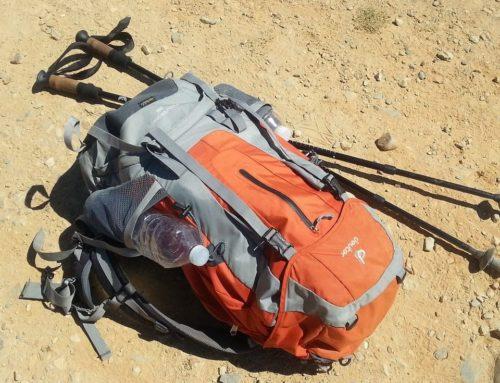 La mochila del Camino de Santiago